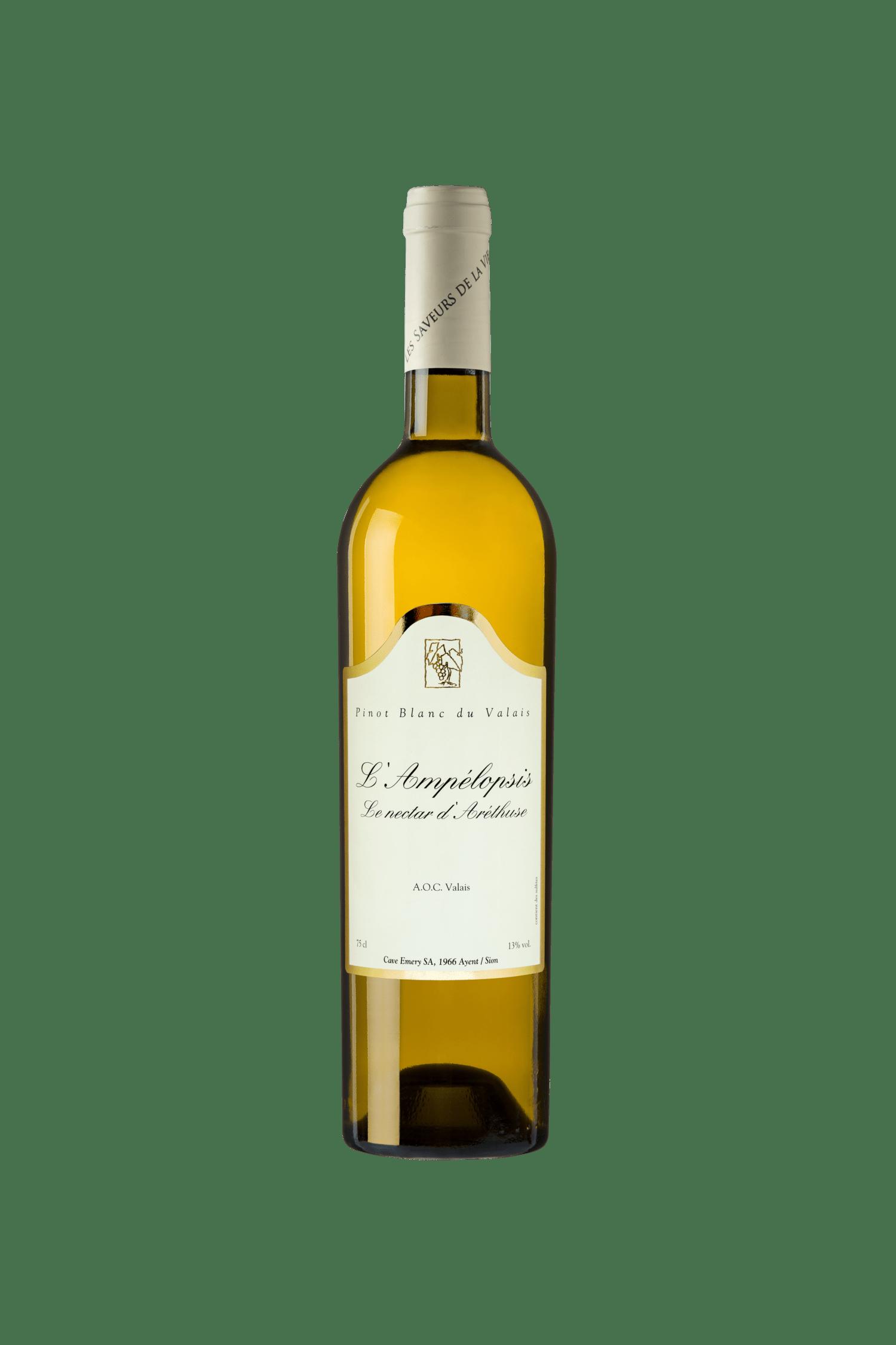 Pinot Blanc «Ampélopsis» Le nectar d'Aréthuse