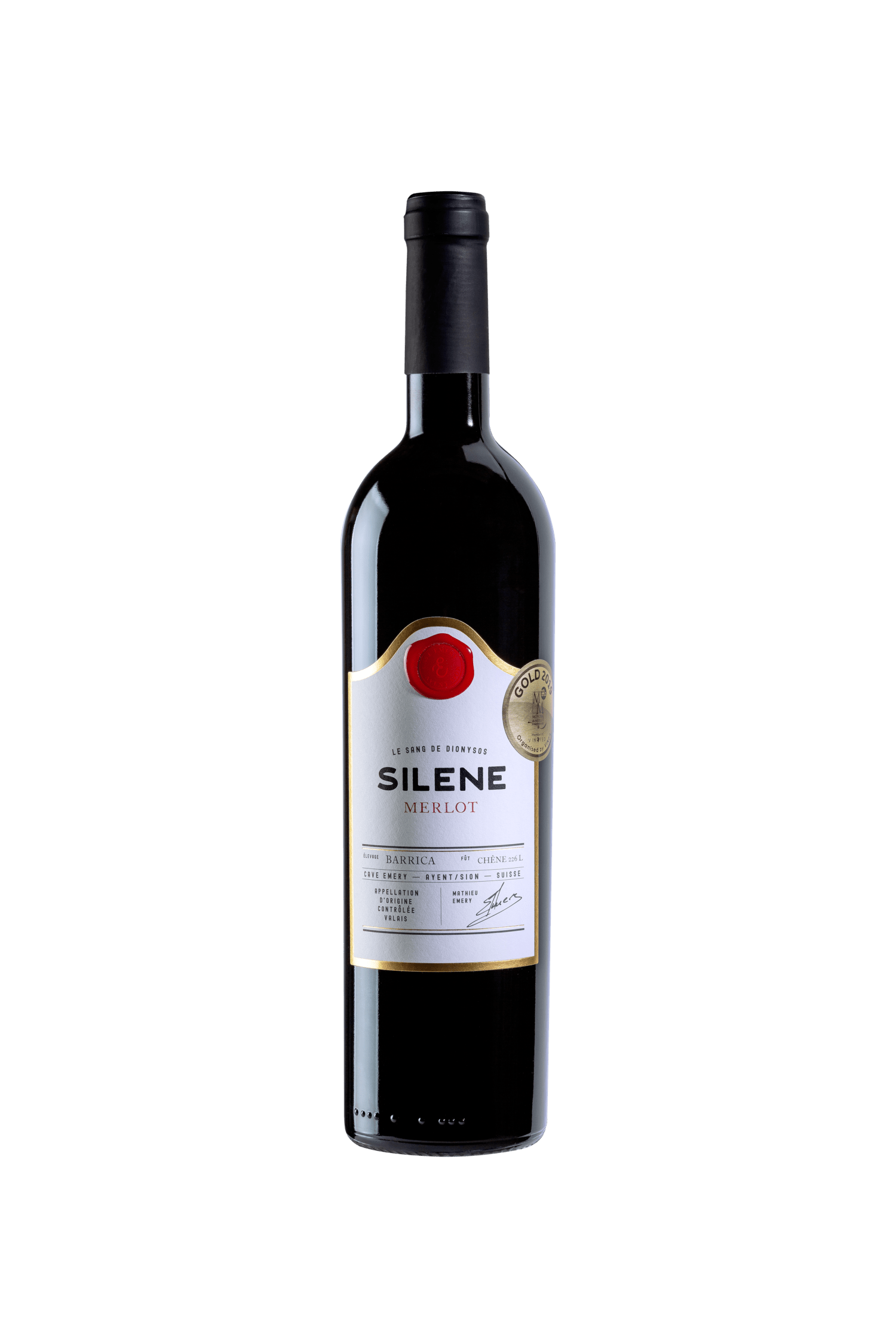 Merlot «Silène» Barrique