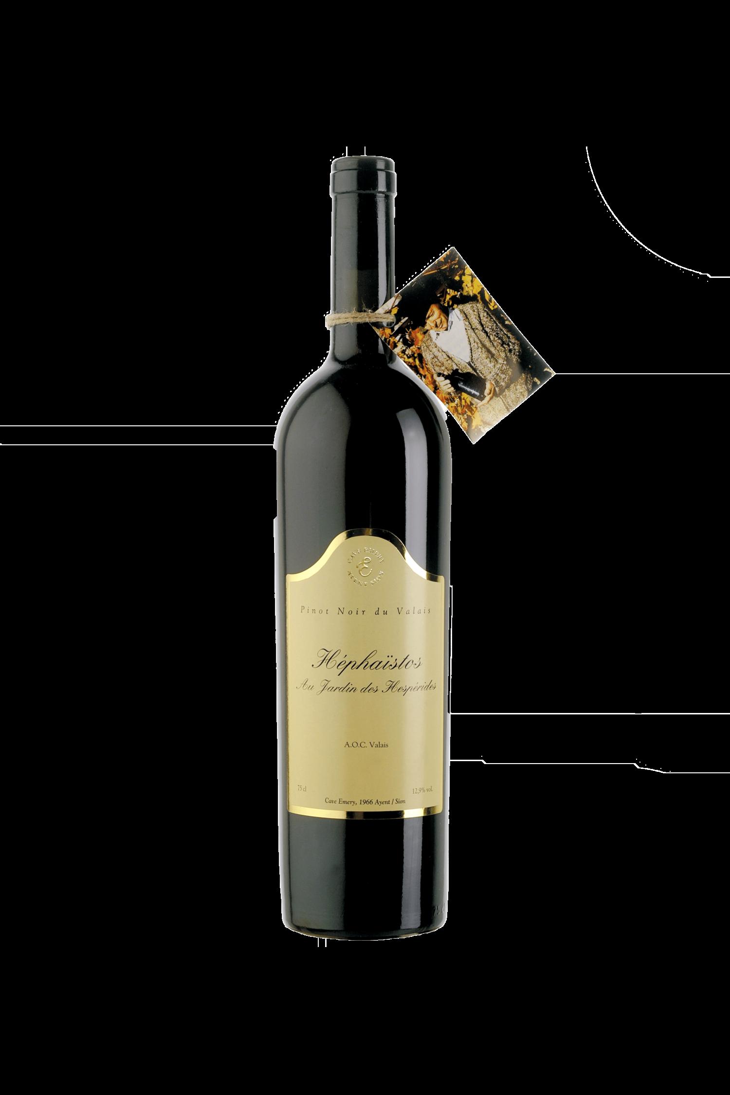 Pinot Noir «Hephaistos» La Mémoire du temps